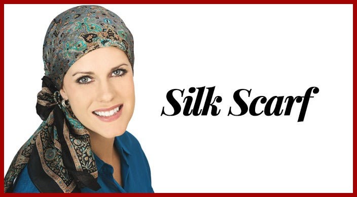 Christmas gifts for cancer patients - silk scarf
