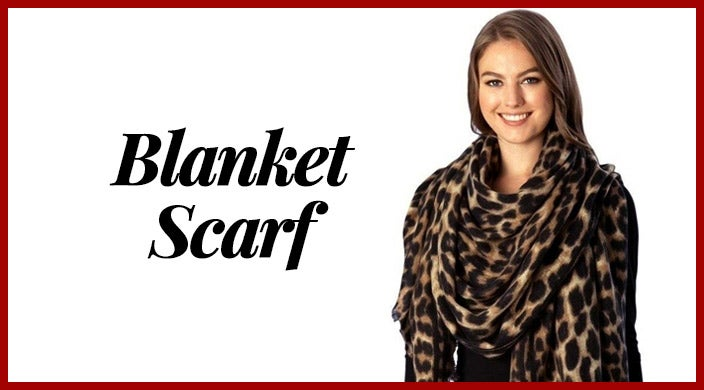 Christmas gifts for cancer patients - Blanket scarf