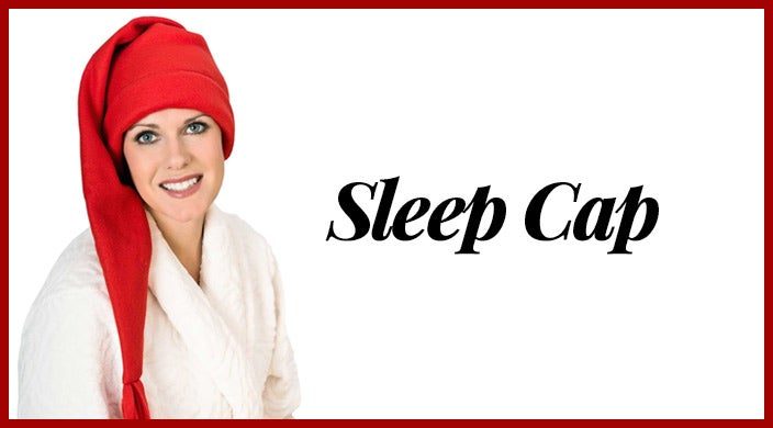 Christmas presents for cancer patients - sleep cap