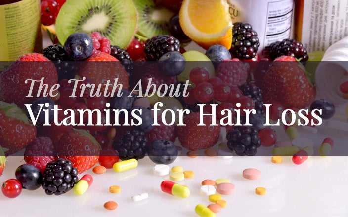 The Truth About Vitamins for Hair Loss & Hair Growth