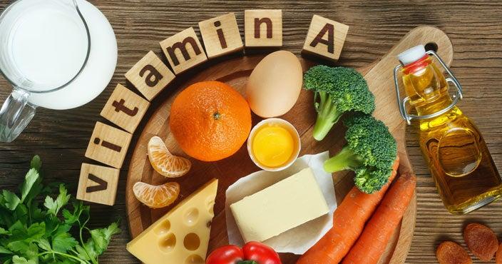 Best vitamins for hair loss - Vitamin A