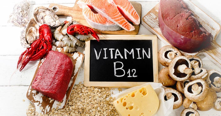 Best vitamins for hair loss - Vitamin B12