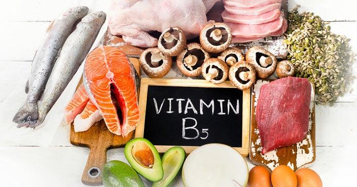 Best vitamins for hair loss - Vitamin B5
