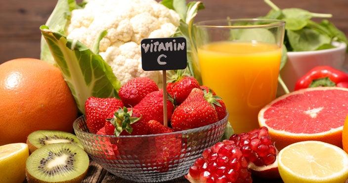 Best vitamins for hair loss - Vitamin C