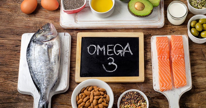 Best vitamins for hair loss - Omega 3