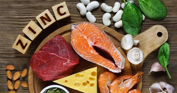 Best vitamins for hair loss - Zinc