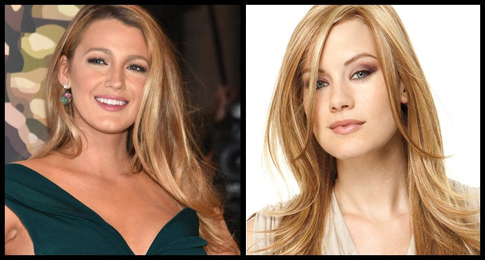 Blake Lively Hairstyle Wig