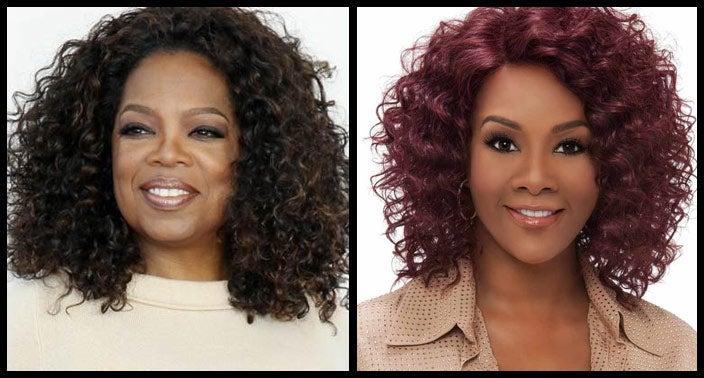 Oprah Natural Hairstyle Wig