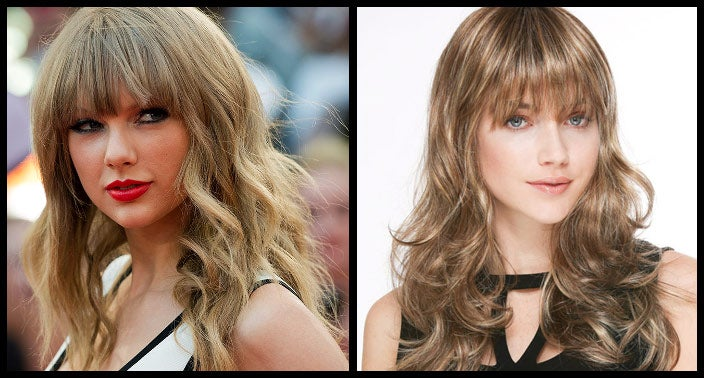 Taylor Swift Hairstyle Wig
