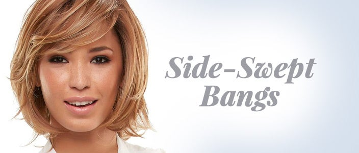 How to Style a Wig with Bangs: Side Bangs
