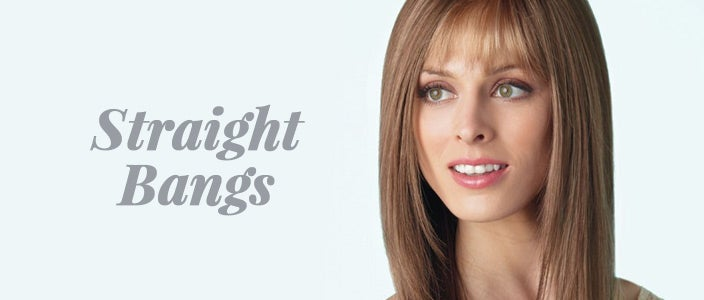 How to Style a Wig with Bangs: Straight Bangs