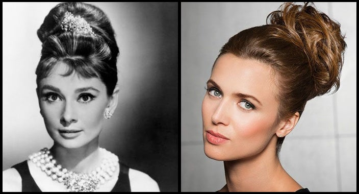 Audrey Hepburn hair - Highlight Wrap by Hairdo Wigs