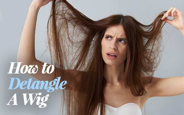 How to Detangle a Wig