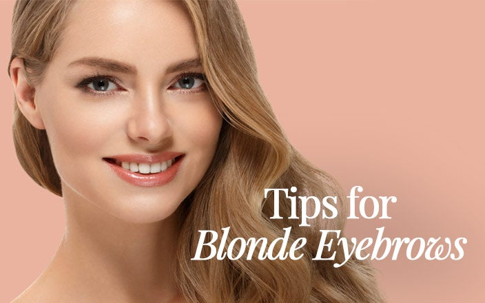 Blonde Eyebrows 7 Expert Makeup Tips For Blonde Hair