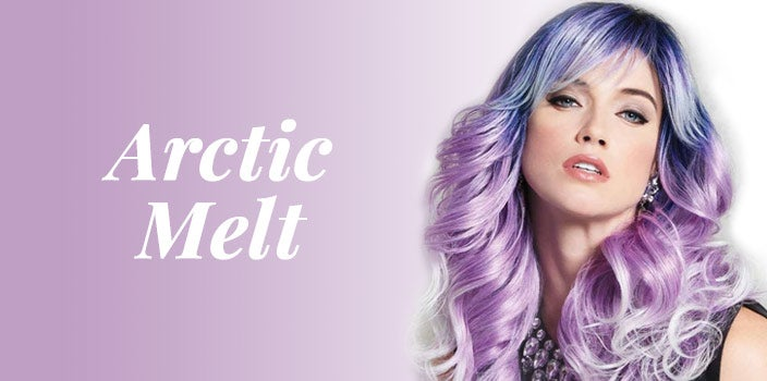 Arctic Melt by Hairdo Wigs - Blue and purple wig