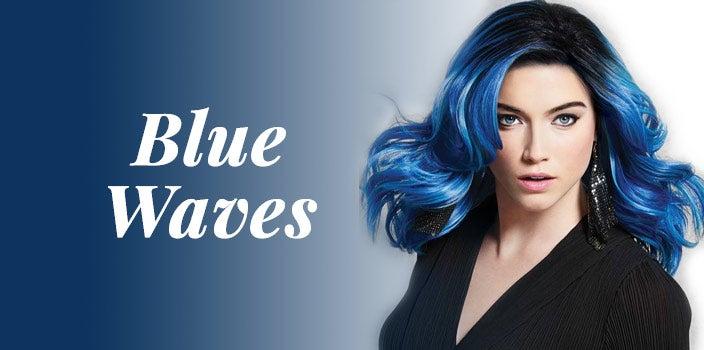 Blue Waves by Hairdo - Dark Blue Wig