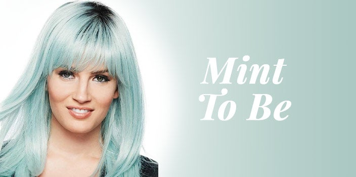 Mint To Be by Hairdo - Mint green wig