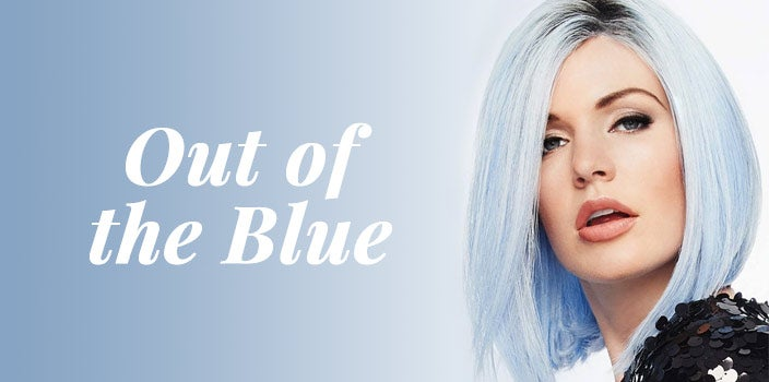 Out of the Blue by Hairdo - Light Blue Wig