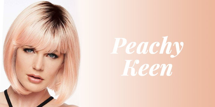Peachy Keen by Hairdo - Peach orange wig