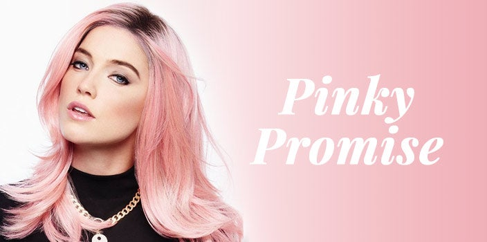 Pinky Promise by Hairdo Wigs - Pink Wig
