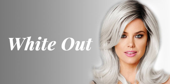 White Out by Hairdo Wigs - White colored wig