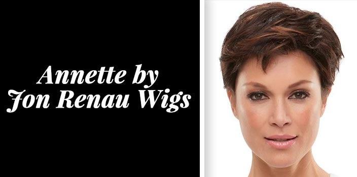 Short wig styles - Annette by Jon Renau Wigs
