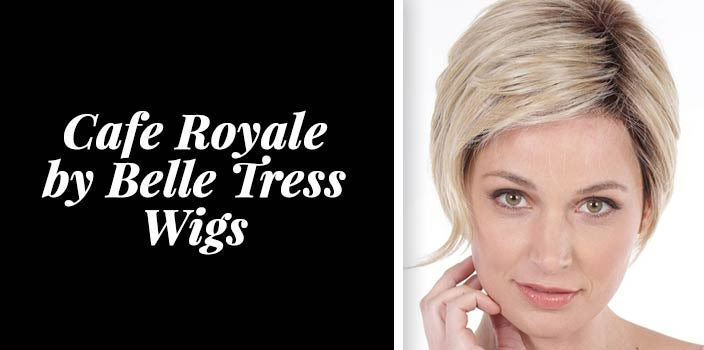 Asymmetrical short wigs - Cafe Royale by Belle Tress