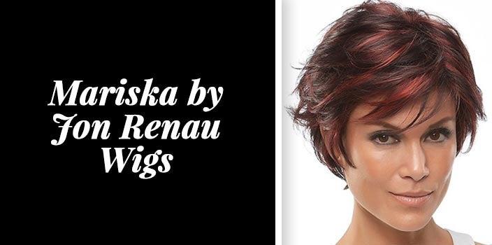 Short red wig - Mariska by Jon Renau Wigs