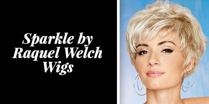 Short Blonde Wigs - Sparkle by Raquel Welch Wigs