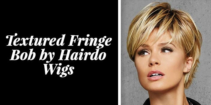 Textured Fringe Bob by Hairdo Wigs