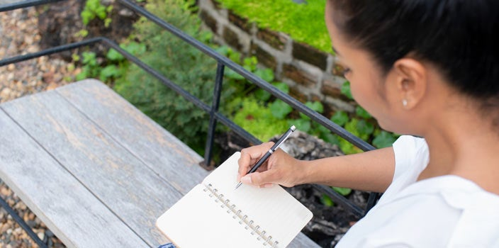 10 Tips - Self reflection and journaling