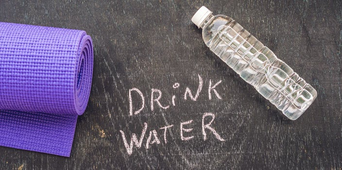 Scalp Care During Treatment - Drink water to stay hydrated