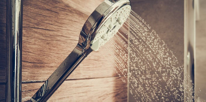 Scalp Care During Treatment- Use warm water in shower