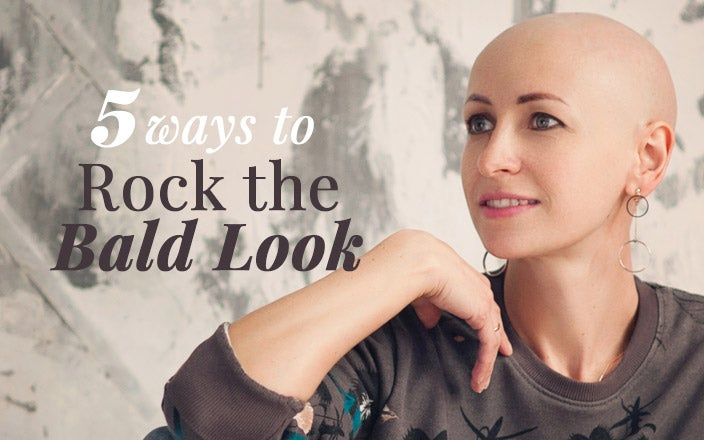 5 Ways to Rock the Bald Look