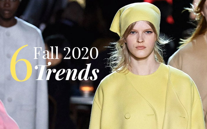6 Unexpected Fall 2020 Fashion Trends