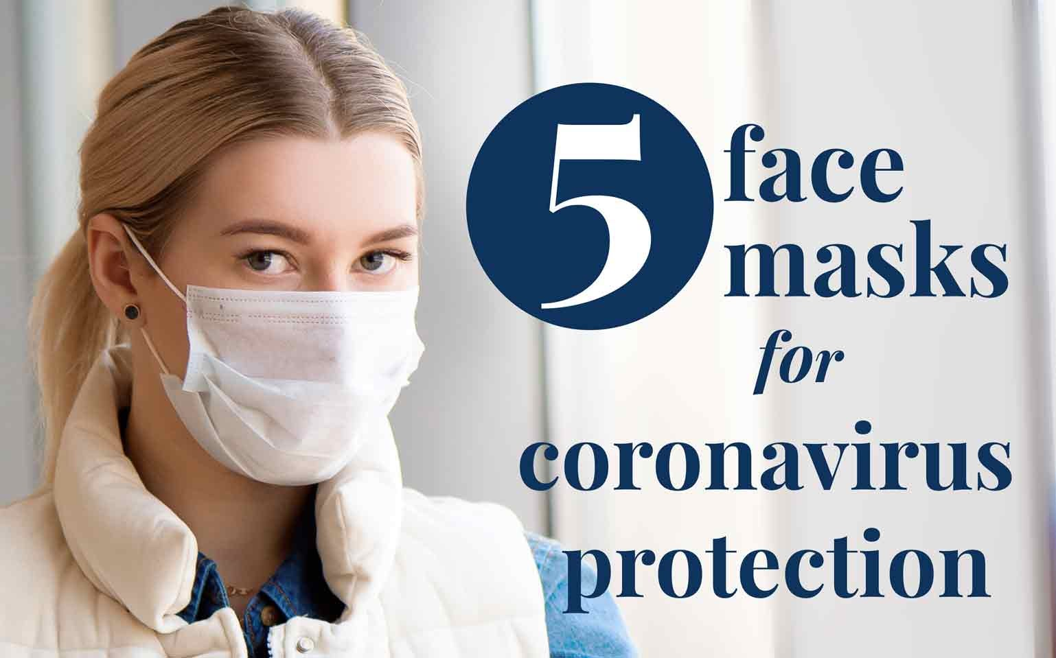 5 Best Face Masks for Coronavirus Protection | Surgical Masks for COVID-19
