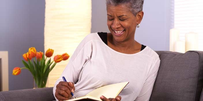 Keep a journal during cancer treatments