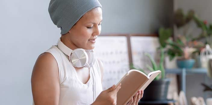 Pass Time During Chemo Treatment by Reading a Book