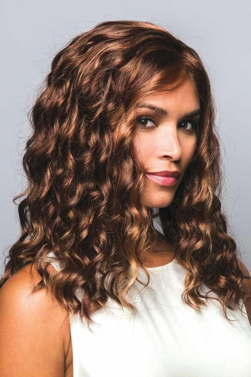 Hudson by Rene of Paris Wigs - Deep rust wig color