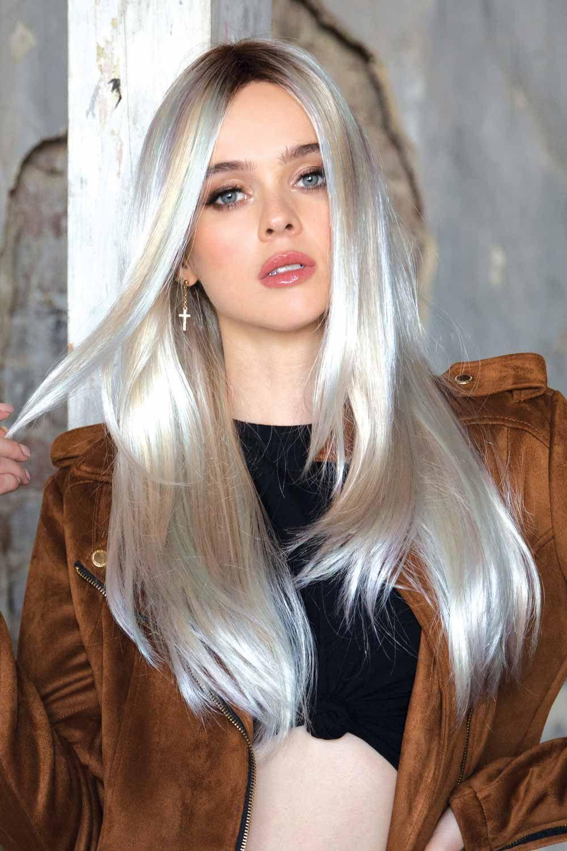 Lennox by Rene of Paris Wigs - Pastel Rainbow Wig Color