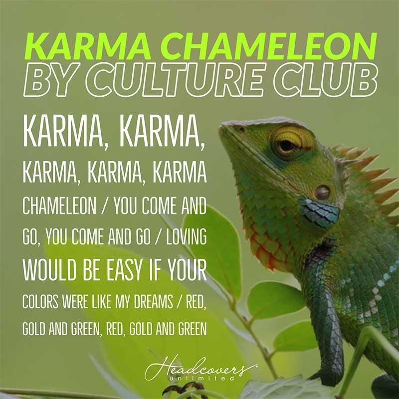 Songs with 20 second chorus to wash hands coronavirus - karma chameleon