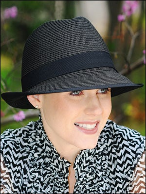 fedora hats for hair loss and cancer patients c56f802070e