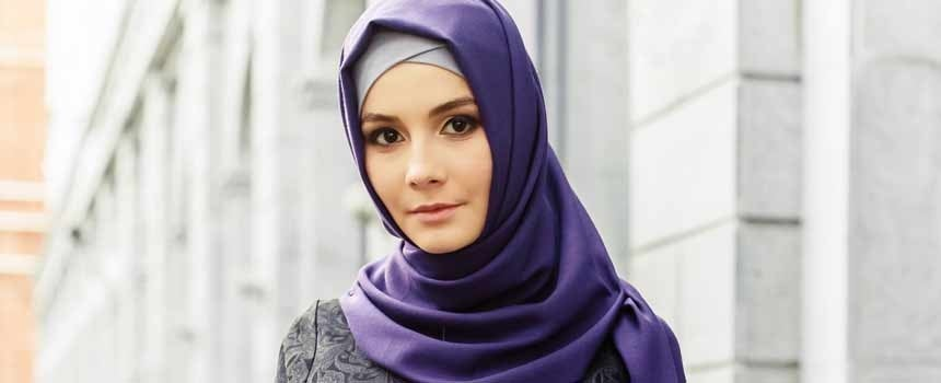 Muslim women cover their heads and part of their face in accordance with  the Islamic principle of dressing modestly. Some of the garments cover the  hair ac9111d3f0c