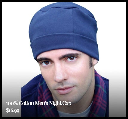 Men's Cotton Cuff Cap.