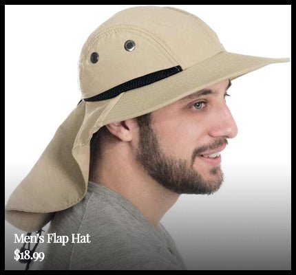 Men's Flap Hat