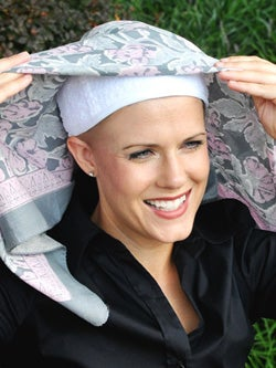 cancer scarf: scarves for cancer patients