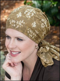 pre-tied head scarves for cancer chemotherapy