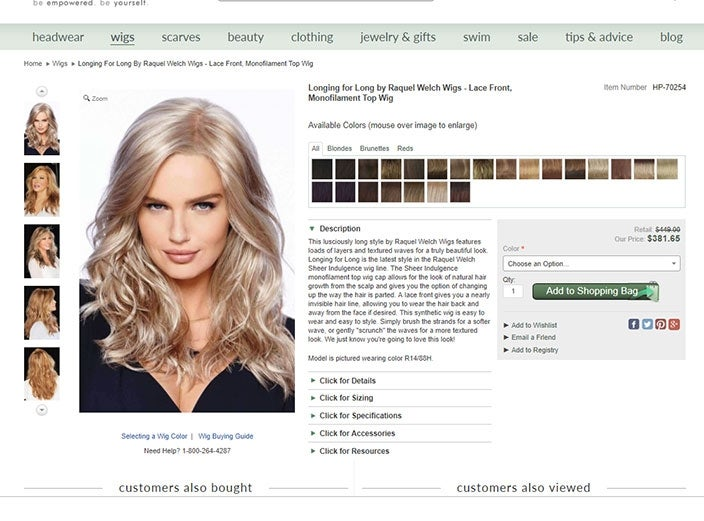 Longing for Long by Raquel Welch Wigs