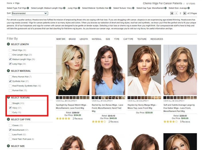 How to find the best wavy wigs online