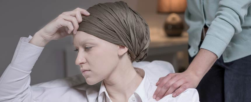 A Caucasian With Hair Loss Due To Chemotherapy Treatment For Cancer Stock Photo 9590090